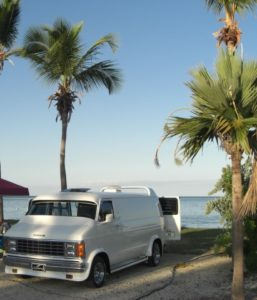 Lightning on the beach in the Keys. Dedicated to promote Vannin'.