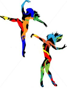 Colored Dancers