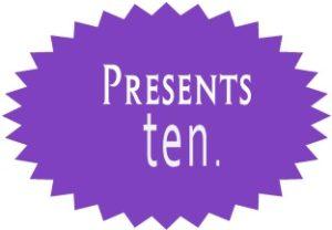 Presents ten
